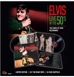 Vinyle Elvis Presley - Live In The 50's - The Complete Tour Recordings (2 Lp +24 Page Gatefold)