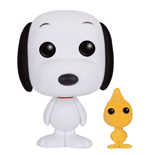 Peanuts POP! Animation Vinyl figurine Snoopy & Woodstock (Flocked) 9 cm