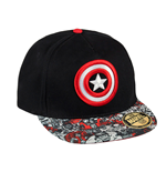 Marvel Comics casquette Premium Captain America Shield Logo