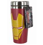 Marvel Comics mug de voyage Iron Man Face