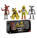 Five Nights at Freddy's pack 4 figurines Set 1 5 cm