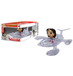DC Comics POP! Rides Vinyl Véhicule avec figurine Invisible Jet & Wonder Woman 12 cm