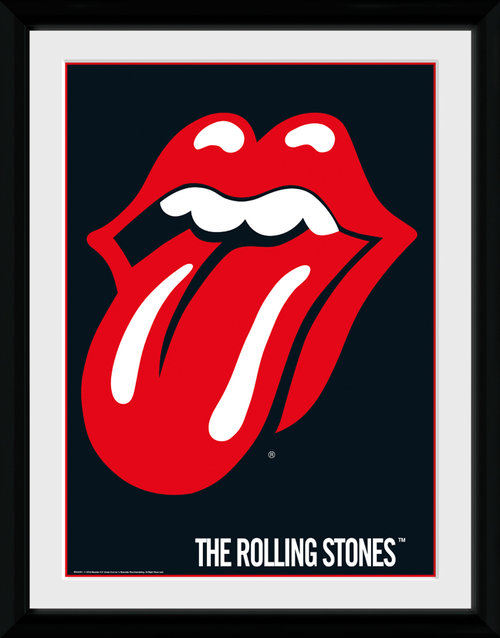 Image Encadrée The Rolling Stones Lips Collector