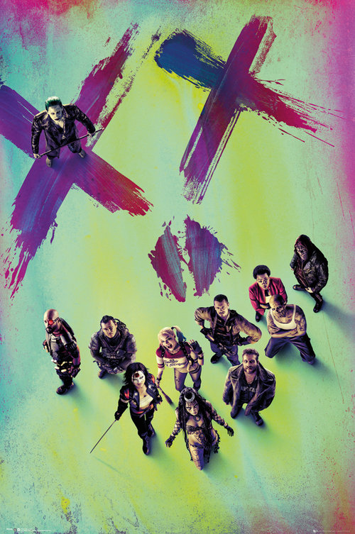 Poster Suicide Squad Stand