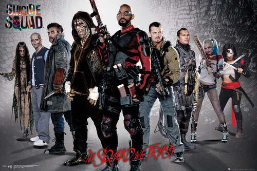 Poster Suicide Squad Group