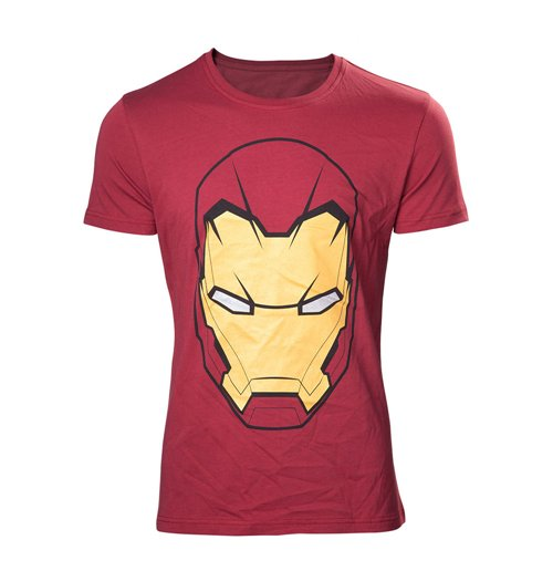 T-shirt Marvel Comics Masque Iron Man, Taille M