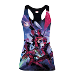 Débardeur Marvel Comics Deadpool Family, Taille S, Multicolore