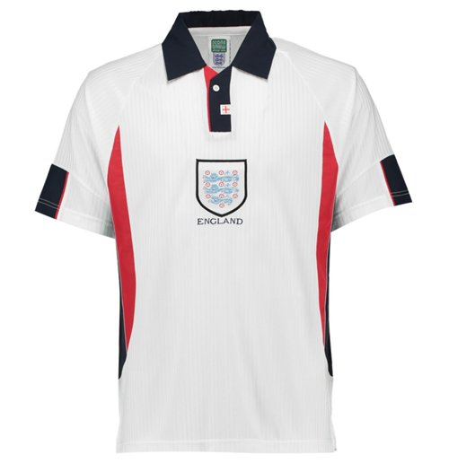 Maillot de Football Score Draw Angleterre 1998 Home