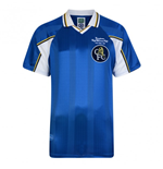 Maillot de Football Score Draw Chelsea FC 1998 Home