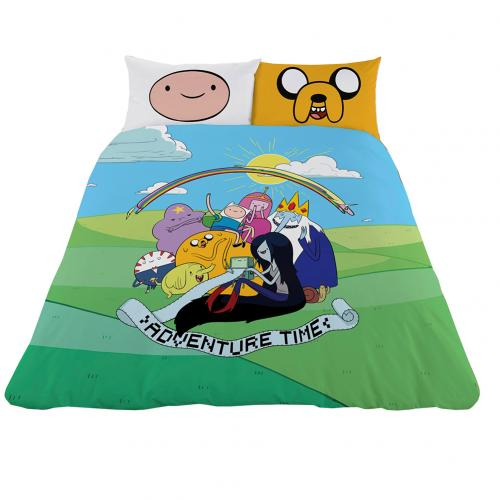 Populaire Housse de Couette Adventure Time 2 Places pour seulement € 49,68  XN34