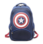 Sac à Dos Marvel Comics Captain America: Civil War, Bleu/Rouge