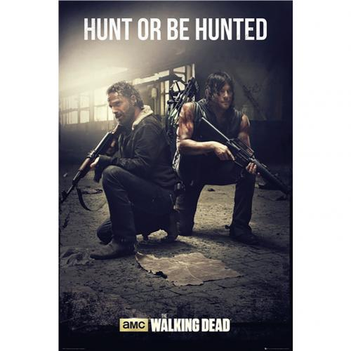 Poster The Walking Dead - Hunt