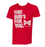 T-shirt Budweiser - This Bud's For You