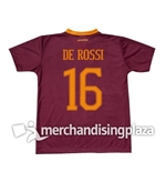 Maillot AS Rome Home 2016/17 (De Rossi 16)