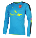 Maillot Arsenal 2016-2017 Away (bleue)