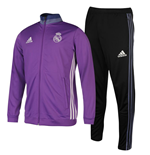 Survêtement Real Madrid Adidas Presentation 2016-2017 (Violet)