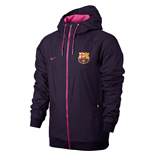 Veste Windrunner FC Barcelone Nike Authentic 2016-2017 (Violet)