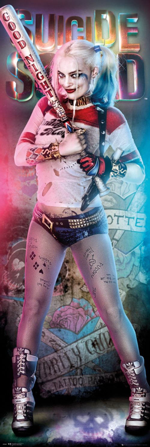 Poster Suicide Squad Harley Quinn