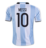 Maillot de Football Argentine Home 2016-2017 (Messi 10)
