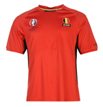 T-shirt Belgique Football (Rouge)