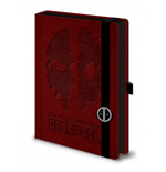 Marvel Comics carnet de notes Premium A5 Deadpool