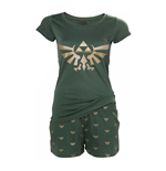 Pyjama Nintendo The Legend of Zelda Emblème Royal d'Hyrule, Taille XXL
