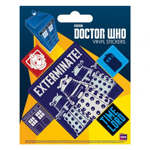 Autocollant Doctor Who  228861