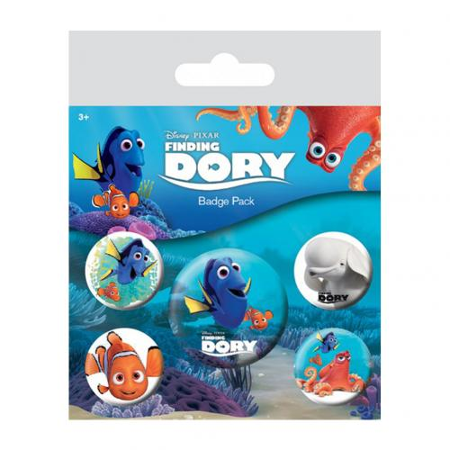 Badge Finding Dory 228950