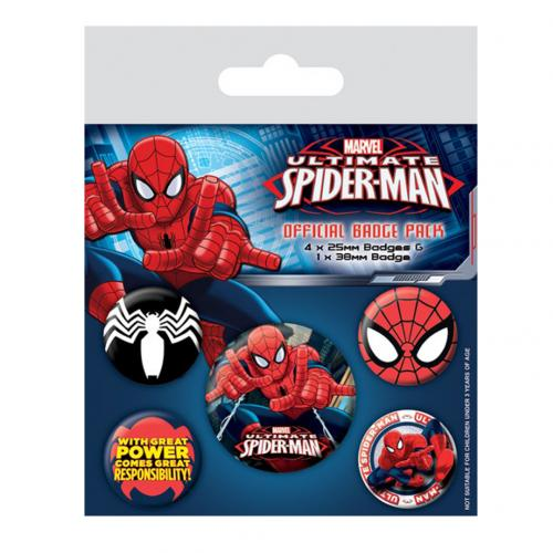Badge Spiderman 229027
