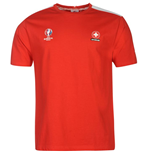 Maillot Suisse Football (Rouge)
