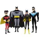 The New Batman Adventures pack 4 figurines flexibles Masked Heroes 14 cm