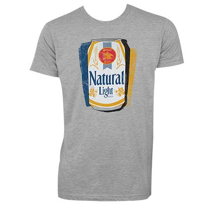 T-shirt Natural Light pour homme