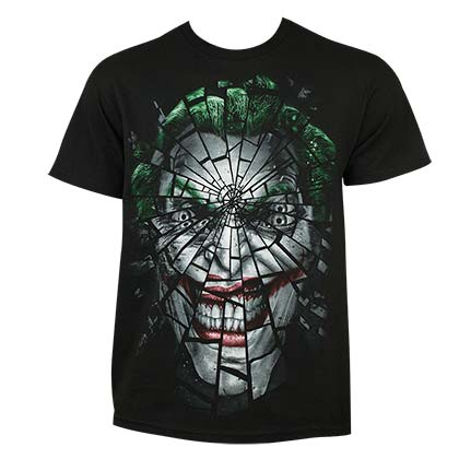 T-shirt Joker - Shattered Face