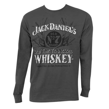 T-shirt Manches Longues Jack Daniel's - Whiskey