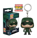 DC Comics porte-clés Pocket POP! Vinyl Arrow 4 cm