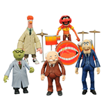 The Muppets Select série 2 assortiment packs 2 figurines 13 cm (6)