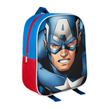 Marvel Comics sac à dos 3D Captain America