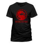 T-shirt Mortal Kombat - Distressed Logo