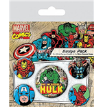 Badge Hulk  230888