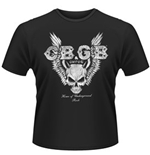 T-shirt CBGB - Skull Wings