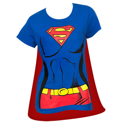 T-shirt Costume Superman Supergirl