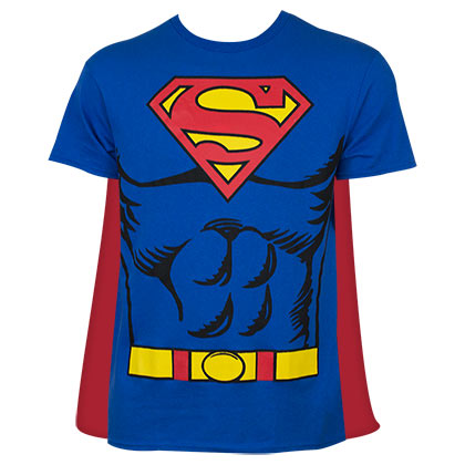 T-shirt Superman - Costume et Cape