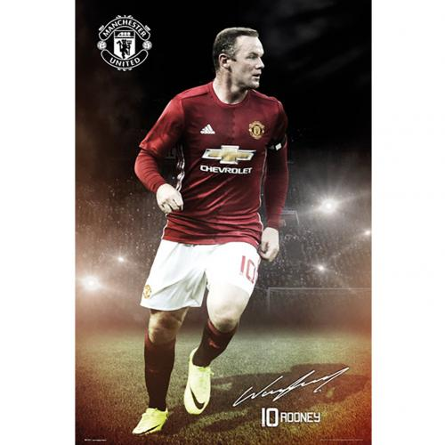 Poster Manchester United FC Rooney 15
