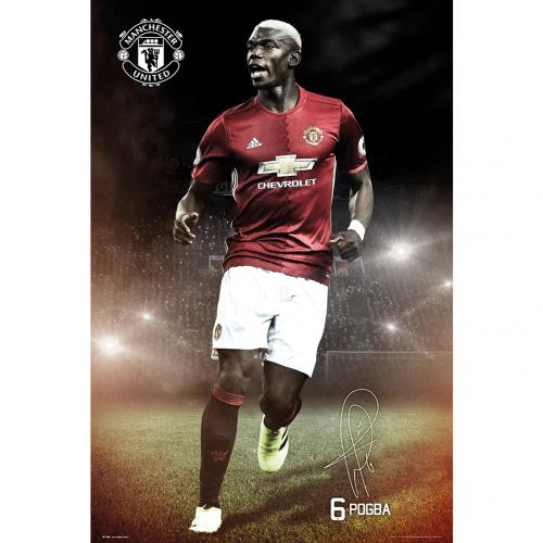 Poster Manchester United FC - Pogba 20