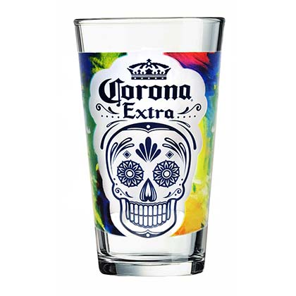 Verre à Bière Corona Extra Day Of The Dead