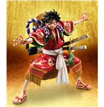 One Piece statuette PVC Excellent Model P.O.P. Monkey D. Luffy Kabuki Edition 21 cm