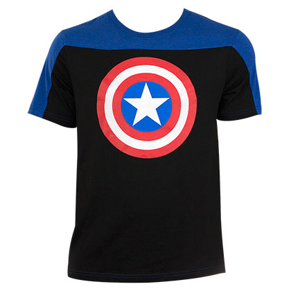 T-shirt Captain America Deux Tons
