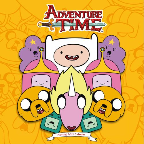 Calendrier Adventure Time 2017