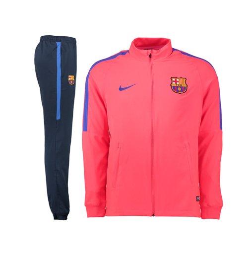 Survêtement FC Barcelone Nike Squad 2016 2017 (Rose)