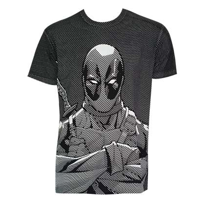 T-shirt Deadpool Halftone